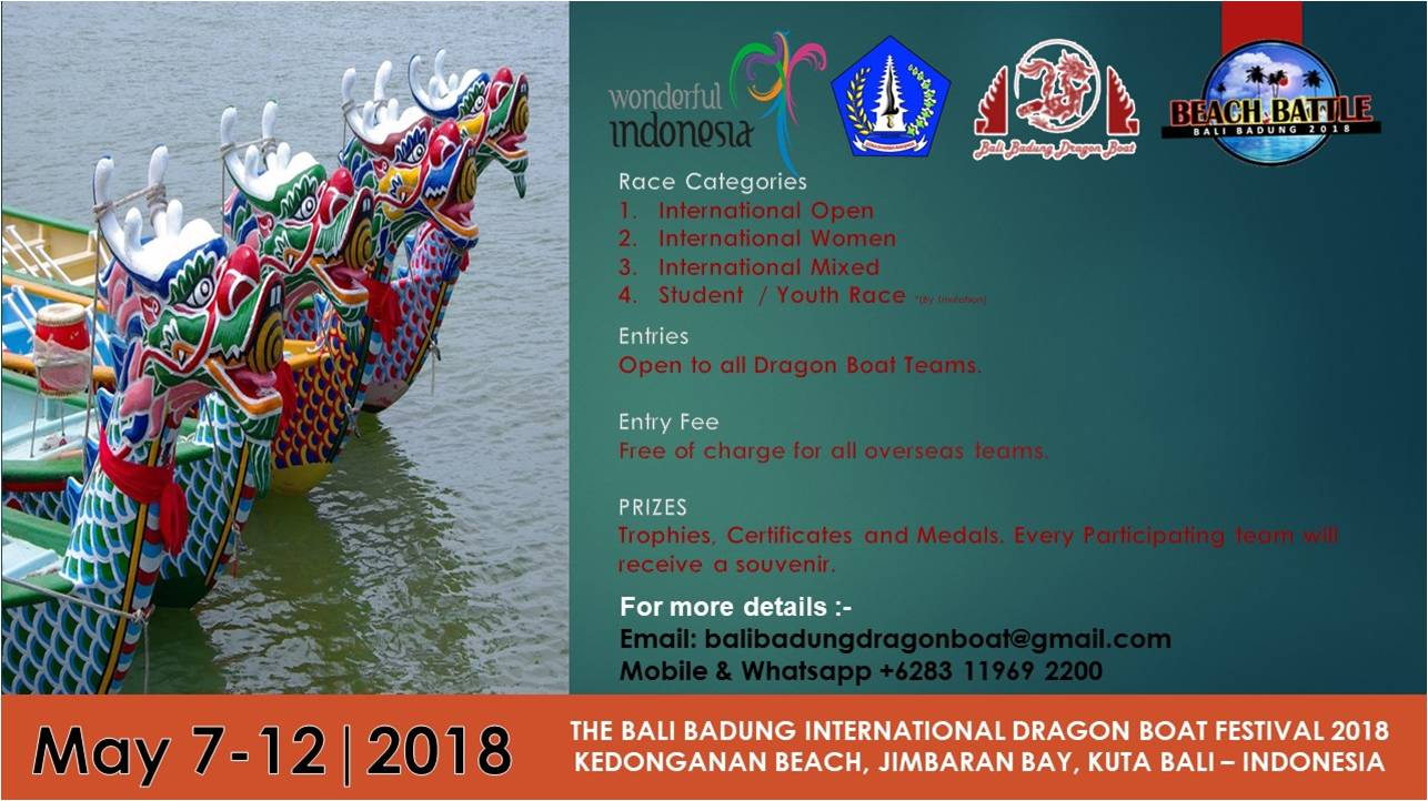 Badung The Soul Of Bali Photo Tour 17 19 Agustus 2018 This Maritime Cultural Festival Event Was Held To Attract Tourists Visit Regency Is Very Close World